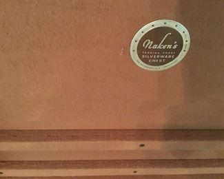 Name on silverware box