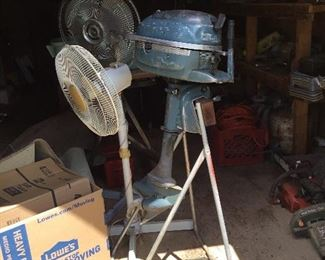 Fans and boat motor