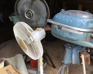 Fans & boat motor again
