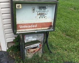 2nd Gas pump at Garage