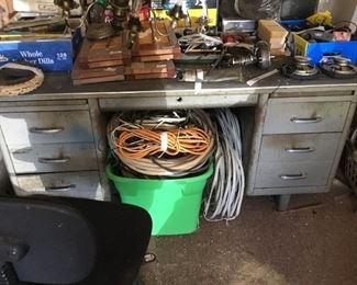 Desk in Garage
