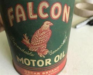 Falcon Motor Oil Can