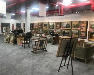 Over 250 original paintings and scores of collector photographs and original prints