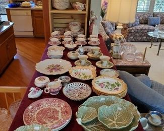 Vintage & antique china.