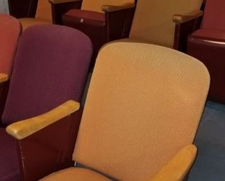 Cushioned Theater Seating