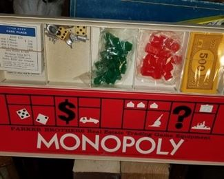 Vintage Monopoly never opened