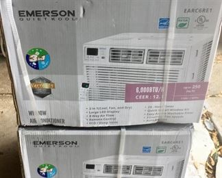 2 Emerson Window Air Conditioners new in box