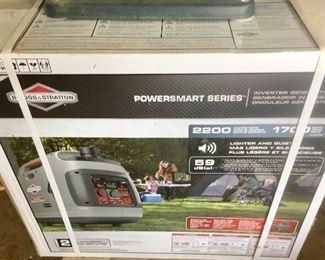 Briggs & Stratton  new in box powersmart Generator
