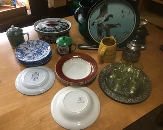 Many Assorted Collector Plates - Spode,