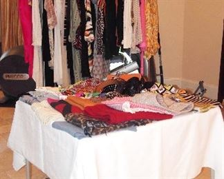 Entire Room of Designer Clothing, Purses, Shoes and more
