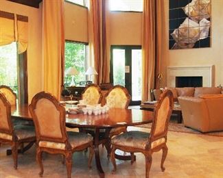 Country French Dining Room Suite