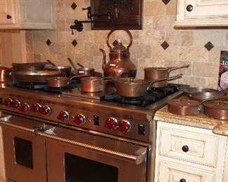 Nice Copper Pans