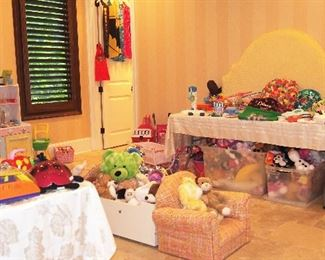 Lovely Upscale Children's Items inc. furniture, toys, clothing and more