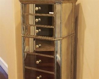 Mirrored Lingerie Chest