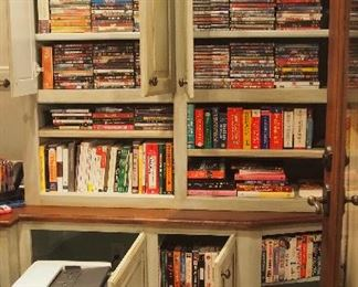 Lots of Dvds, High End Printers and more