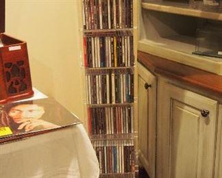 Pr. Lucite High End CD's racks