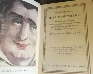 Heritage Press Limited Edition Dickens