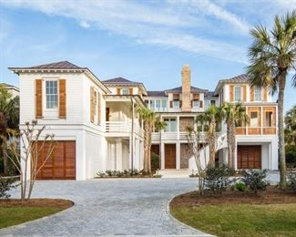 This gorgeous beach home is magnificent and worth a trip over to Sullivan's Island to see it.  It has beautiful views, lots of natural light and steller craftsmanship.