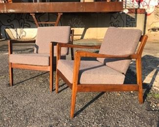 Pair of DUX lounge chairs