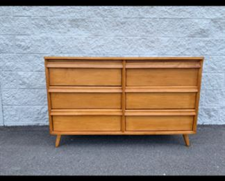 Solid wood 6 drawer