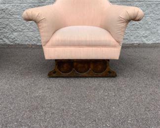 Unique vintage lounge chair