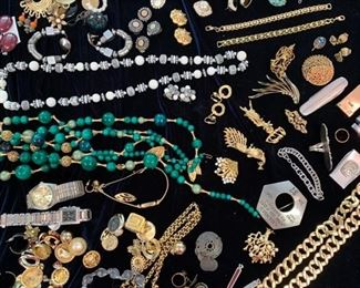 40. Collection of Costume Jewelry