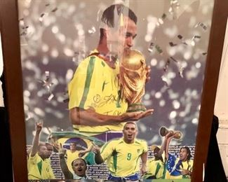 48. Brazil-IANT World Cup Winners Framed Poster 2002