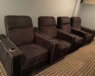 94. 4 Movie Loungers (31'' x 31'' x 37'')