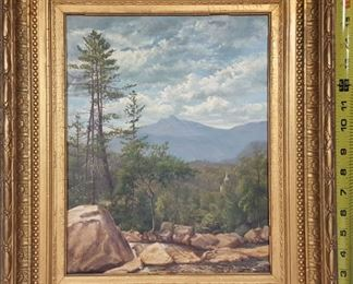 Art Virginia Granberry oil on Canvas Landscape
