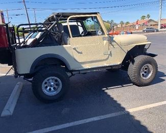 1980 Jeep with a V8!
