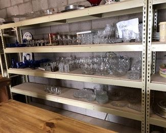 Tons of glassware!