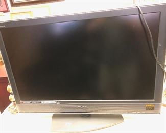 We have several TV's including Sony!