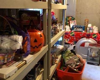 Storage room full of Seasonal!