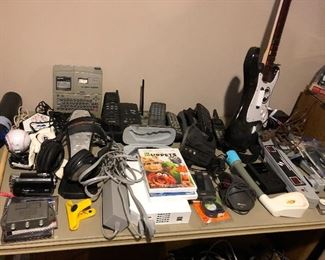 Electronics - Wii gaming system; tons of games