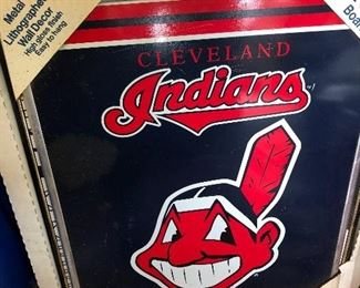 Cleveland Indians poster Chief Wahoo