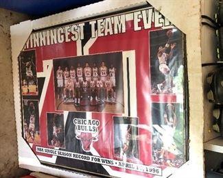 Chicago Bulls Winningest Team Ever poster