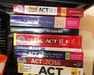 ACT prep books