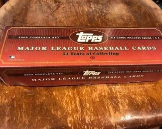 Topps major League Baseball Cards 2002  Complete Set