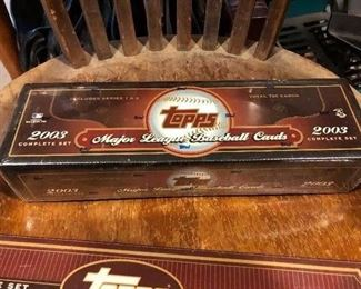 2003 Topps Major League Baseball Complete Set, factory sealed