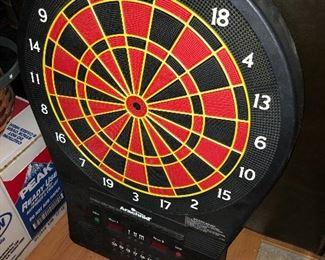 Arachnid electronic dart board