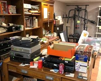 Vintage Electronics, office supplies, & more!