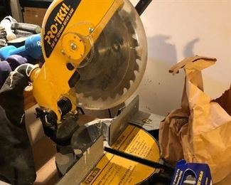 "ProTech 10"" miter saw"