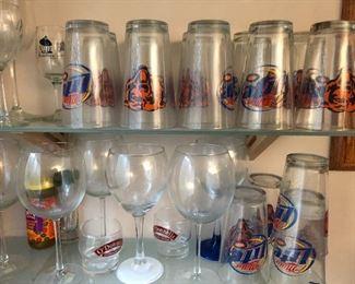 Chicago Bears Miller Lite glasses