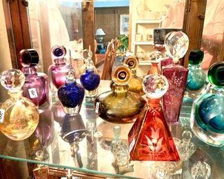 Mirano Italian perfume bottles