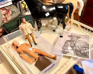 Vintage western toy collectibles