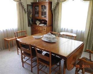 Vintage dining room set.