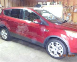 2013 Ford Escape SEL. 60,000 miles.