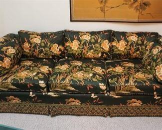 Silk sofa