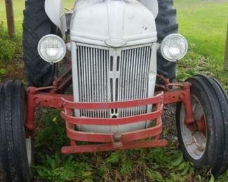 1952 ford 8n tractor, runs good,