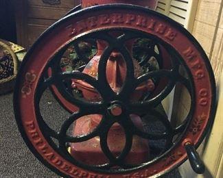 Antique Enterprise Coffee grinder mill